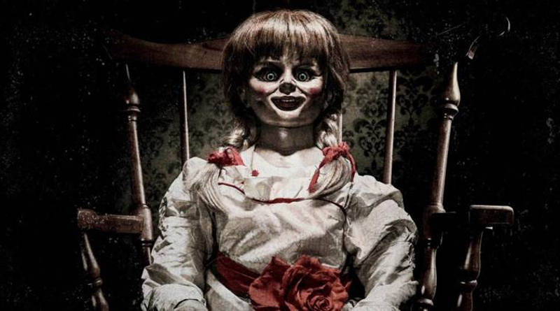 Sit Down for a Terrifying Tea Party in an All-New 'Annabelle: Creation' Photo