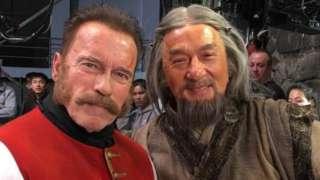 Arnold-Schwarzenegger-Jackie-Chan