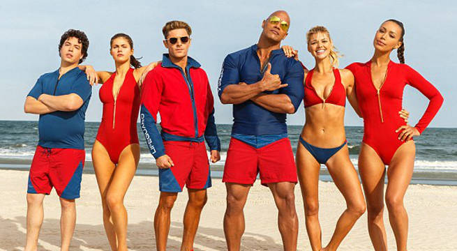 The Rock's Baywatch Gets An Official Rating