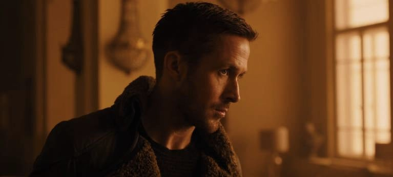 First Look At Ryan Gosling In Blade Runner 2049 Trailer