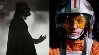 darth vader luke skywalker