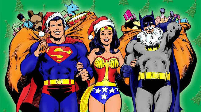 dc extended universe characters christmas - Dc Christmas