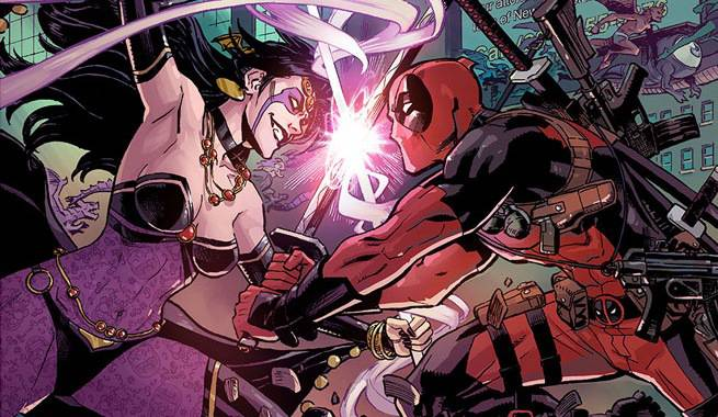 deadpool crossover