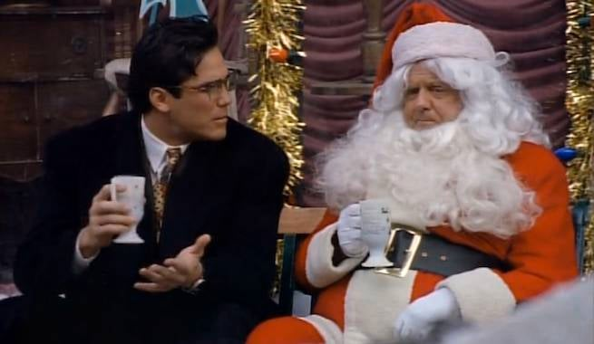 dean-cain-as-clark-kent-and-dick-van-patten-as-santa-in-lois-and-clark-the-new-adventures-of-superman-seasons-greedings