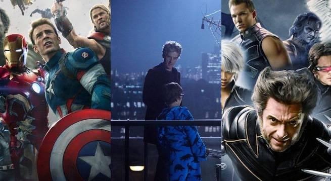Doctor Who-Avengers-XMen