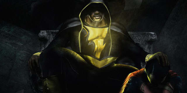 Dwayne Johnson Shares Superman vs. Black Adam Fan Art