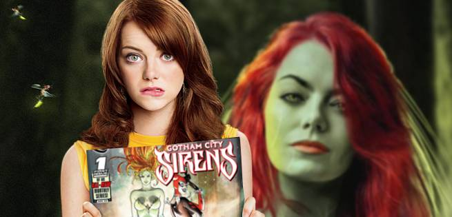 Here's What Emma Stone Could Look Like As Poison Ivy