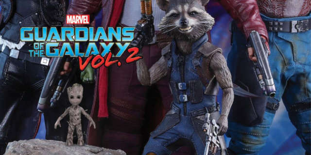 Gurdians of the Galaxy vol 2 Hot Toys Collectibles
