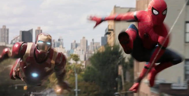 「spiderman homecoming Ironman」の画像検索結果