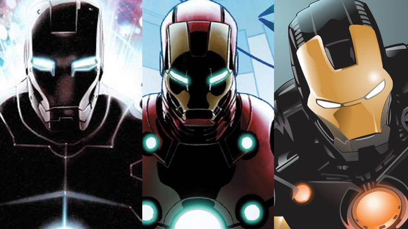 Iron Man Armor Suits W...
