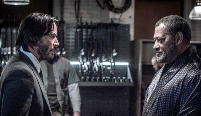 New John Wick 2 Image Reveals A Matrix Reunion