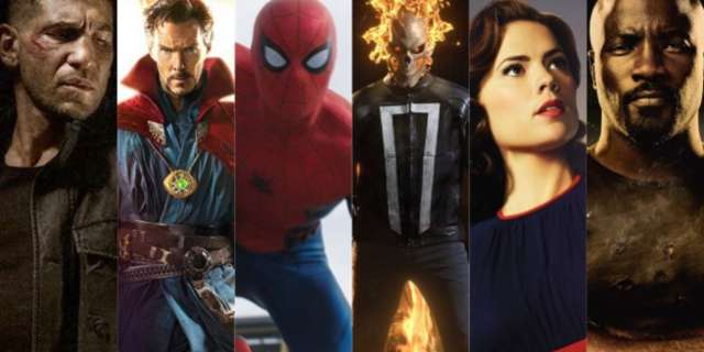 Marvel Cinematic Universe Characters 2016