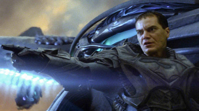 Michael Shannon Says Man of Steel was Socially Relevant