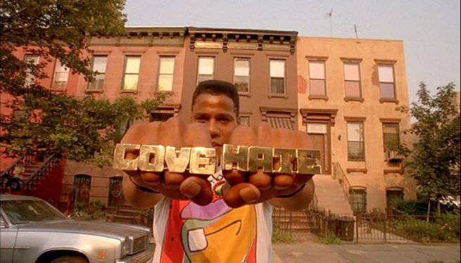 a contemporary look at racism in do the right thing by spike lee
