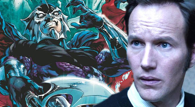 Aquaman's Patrick Wilson Discusses Ocean Master Casting