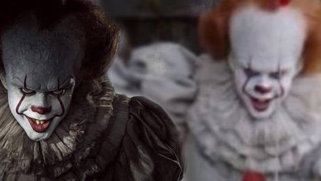 Horrifying New Look At Pennywise From 'IT' Revealed