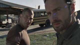 "Rick And Shane In ""The Walking Dead"""