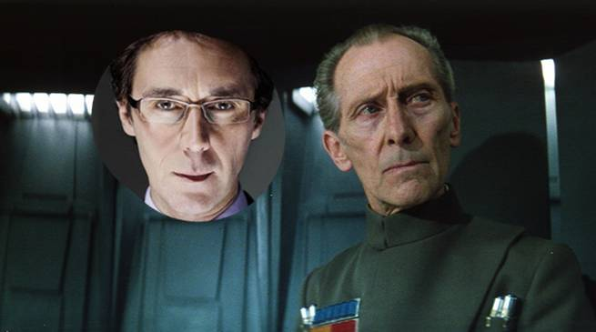 Rogue One Star Wars Moff Tarkin Actor Guy Henry