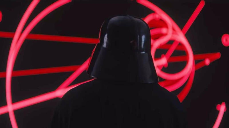 Rogue One Star Wars Story Deleted Scenes - Darth Vader Death Star Console