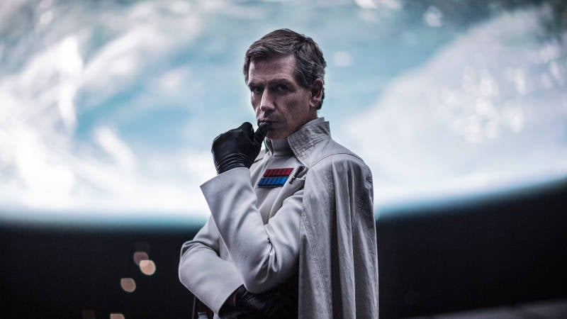 Rogue One Star Wars Story Orson Krennic Death Scene Ending