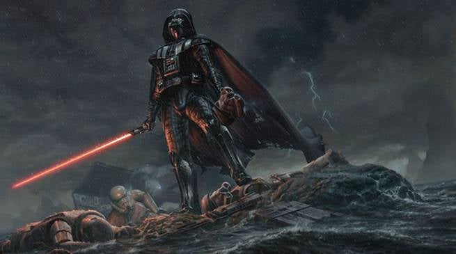 Star Wars Darth Vader R-Rated Movie