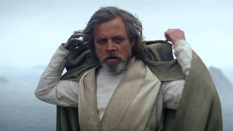 Star Wars Episode 8 Luke Skywalker