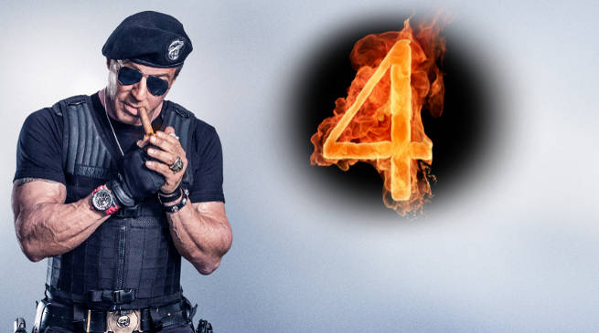 Sylvester Stallone Teases Something Different For The Expendables 4