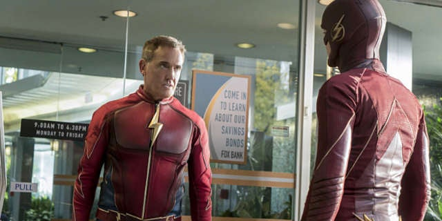 The Flash Midseason 3 Finale The Present Jay Garrick