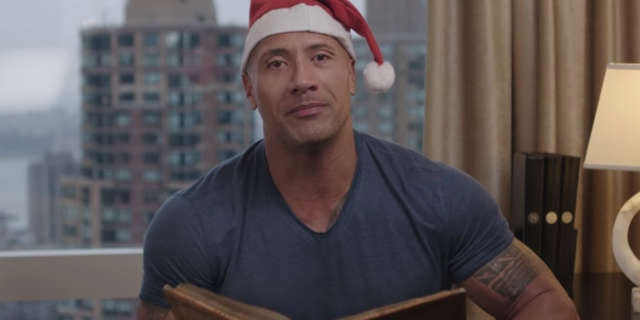 Dwayne Johnson Reads Twas The Night Before Rockmas