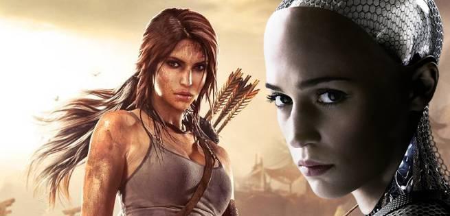 First Look At Alicia Vikander As Lara Croft In Tomb Raider Reboot Set Photos