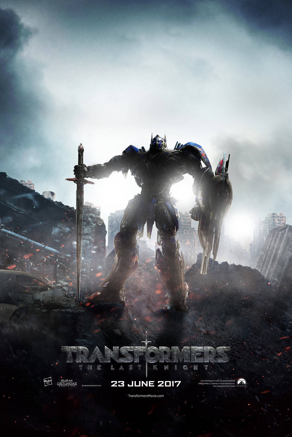 Transformers 5 Last Knight poster  1 by burakrall-da77k79