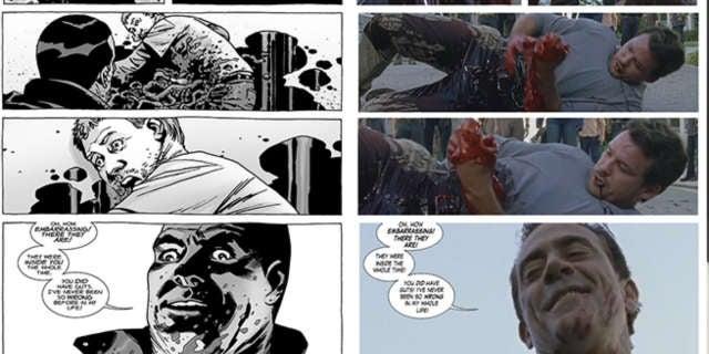 TWD 708 comics