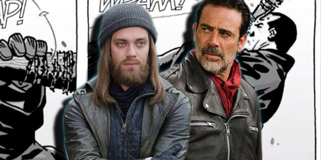 TWD Jesus vs Negan