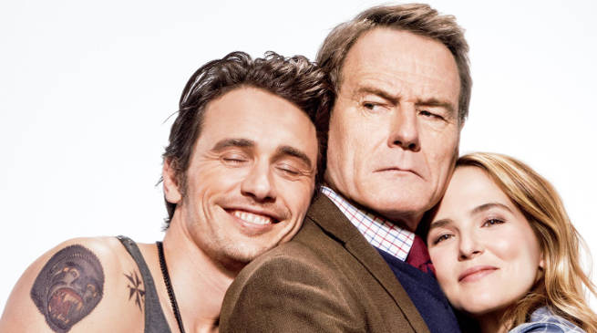 Why Him? Review: Cranston and Franco Fight Dirty