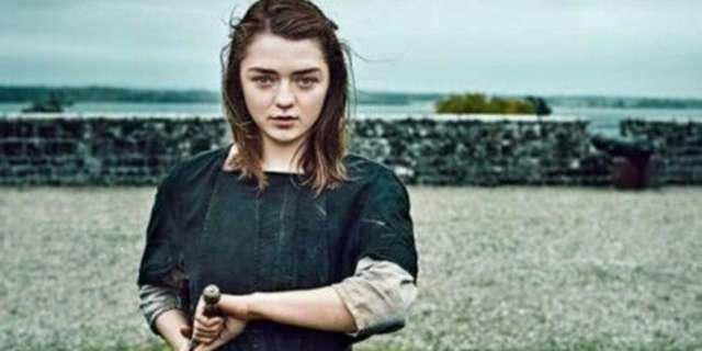 arya stark maisie williams game of thrones season 7 finale