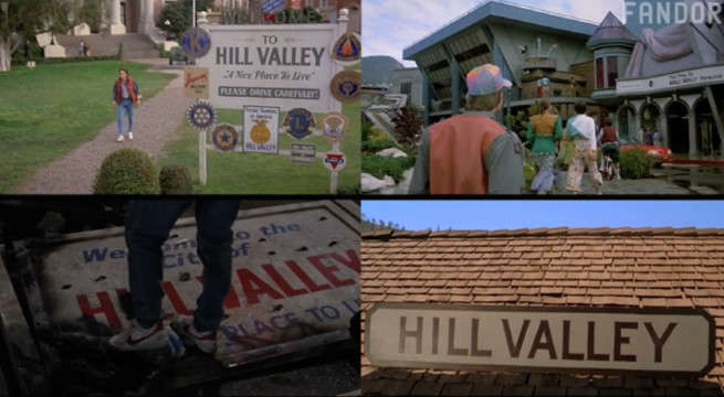 Back To The Future Video Essay Explores Five Alternate Hill Valleys