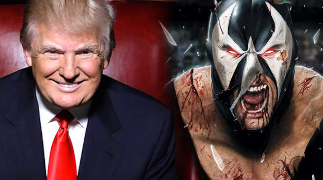 Bane Creators Praise Donald Trump