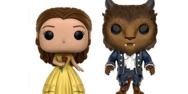 beauty and the beast pops