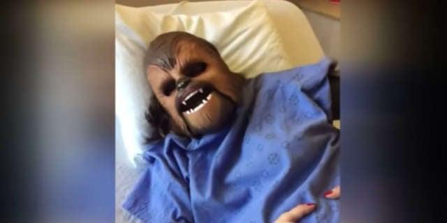 chewbacca mom in labor
