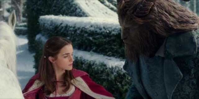 Disney's Beauty and the Beast - Golden Globes TV Spot screen capture