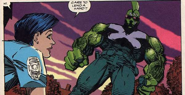 Savage Dragon looks like an Action Figure