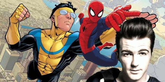 drake bell invincible ultimate spider-man