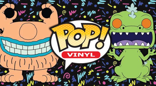 Funko Unveils 90s Nickelodeon Pops
