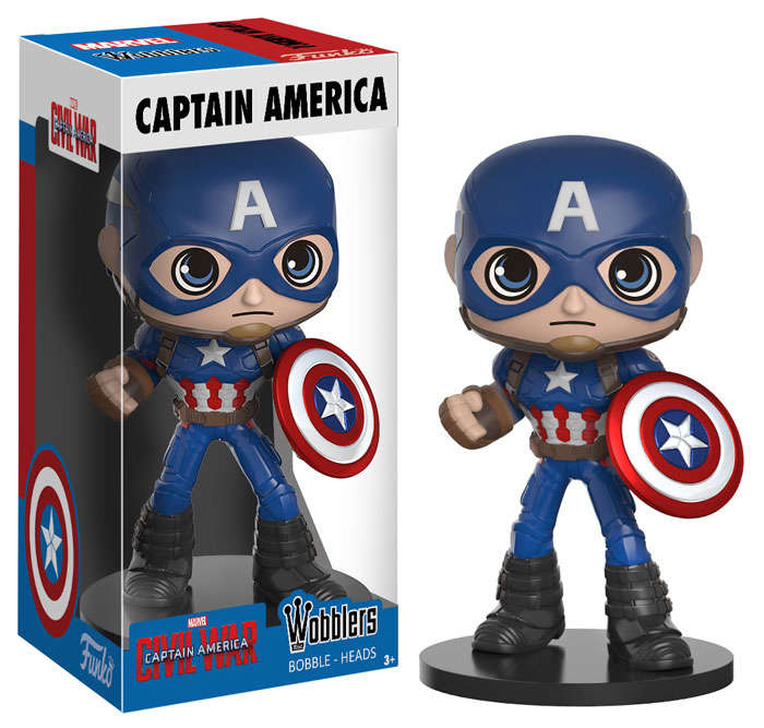 Funko Captain America Wacky Wobbler