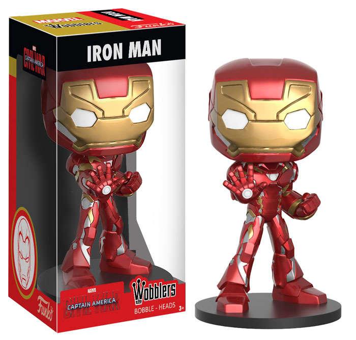 Funko Iron Man Wacky Wobbler