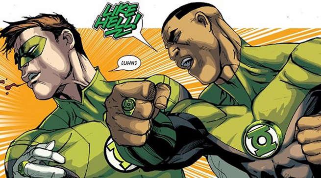 Green Lantern Corps Movie Hal Jordan Jon Stewart