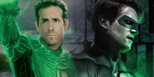 Green Lantern Ryan Reynolds Armie Hammer