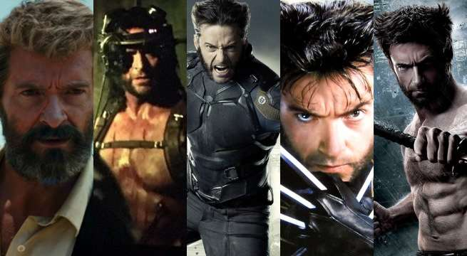 Hugh Jackman's Wolverine Looks From Every X-Men Movie