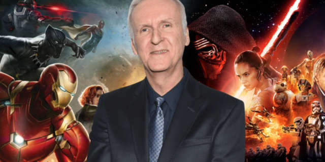 james cameron not interested star wars marvel