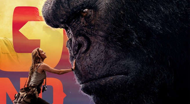 Kong Skull Island Releases New Banners